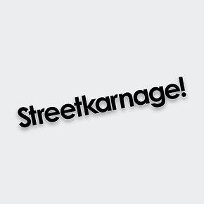 Streetkarnage! Classic Decal