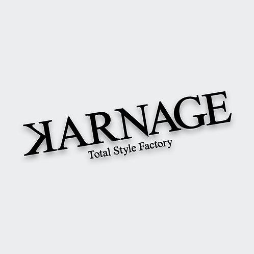 Karnage Lab Decal (2 Sizes)