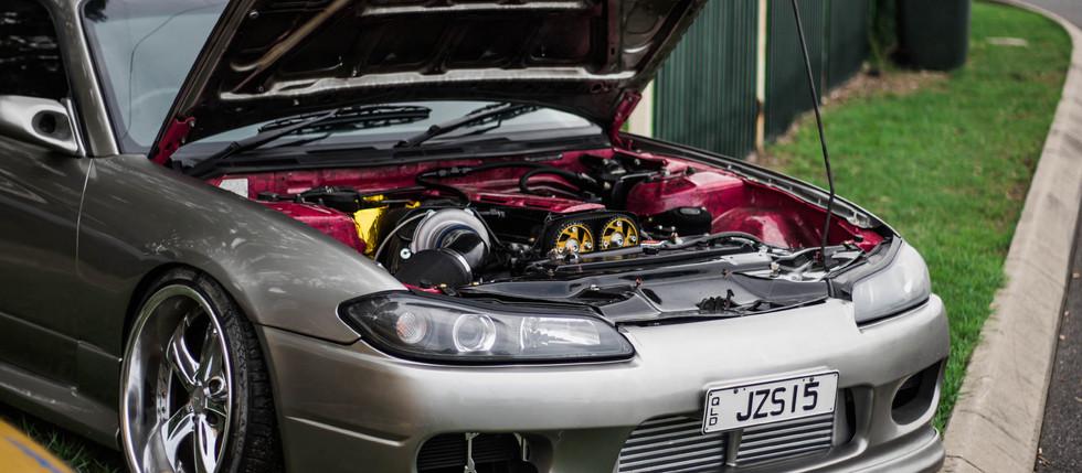 Jake's S15 Engine Bay