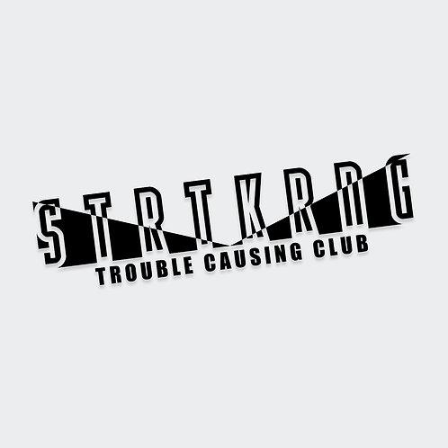 Club STRTKRNG Decal