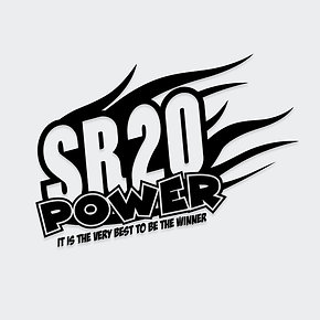 SR20 Power Decal