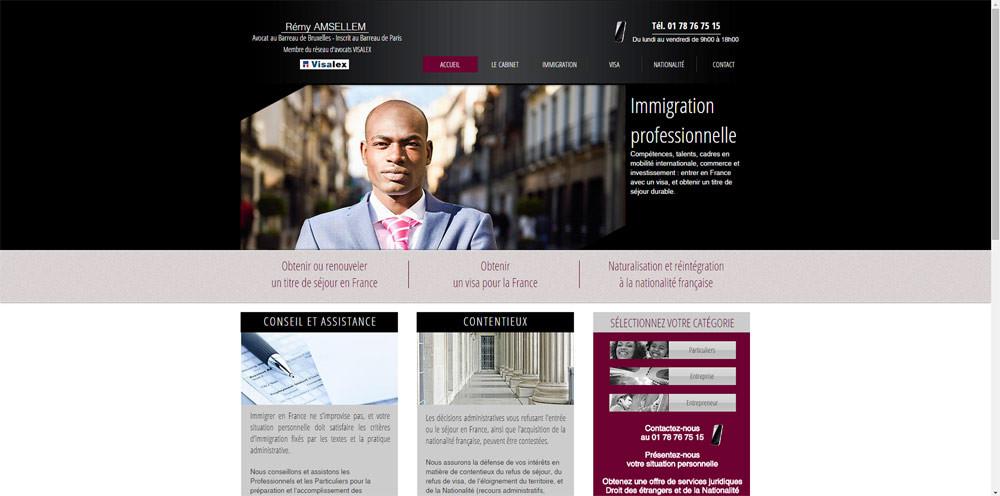 Site internet pour avocat