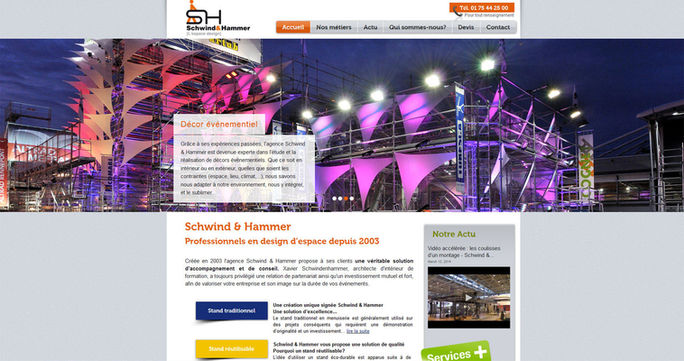 Site Wix pour achitecte | Indé-Design