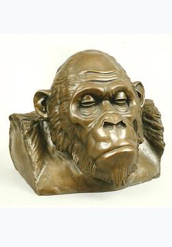 Gorille bronze