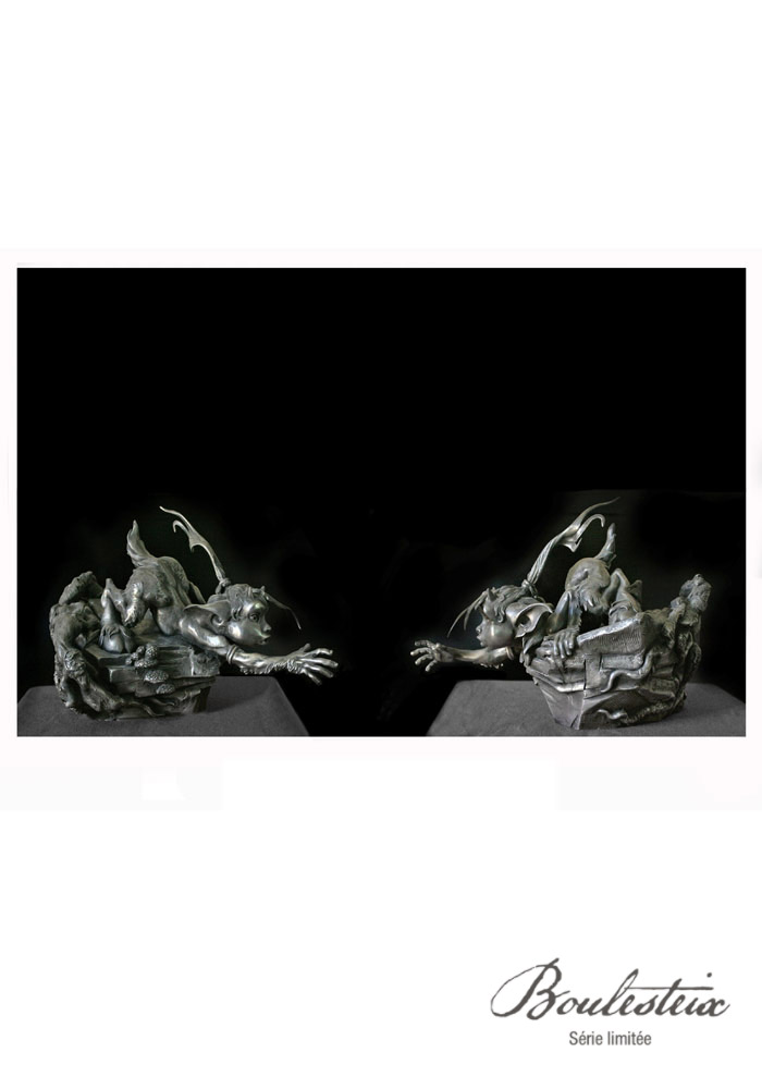 sculpture de Pyros