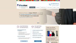 Site internet pour avocat réalisé par Indé-Design