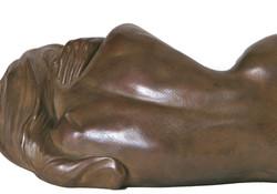La Frileuse - bronze