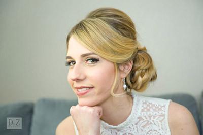 coiffure mariée et maquillage mariée - D&Z Agency - coiffure mariage et accessoires - Photo Indé-Design