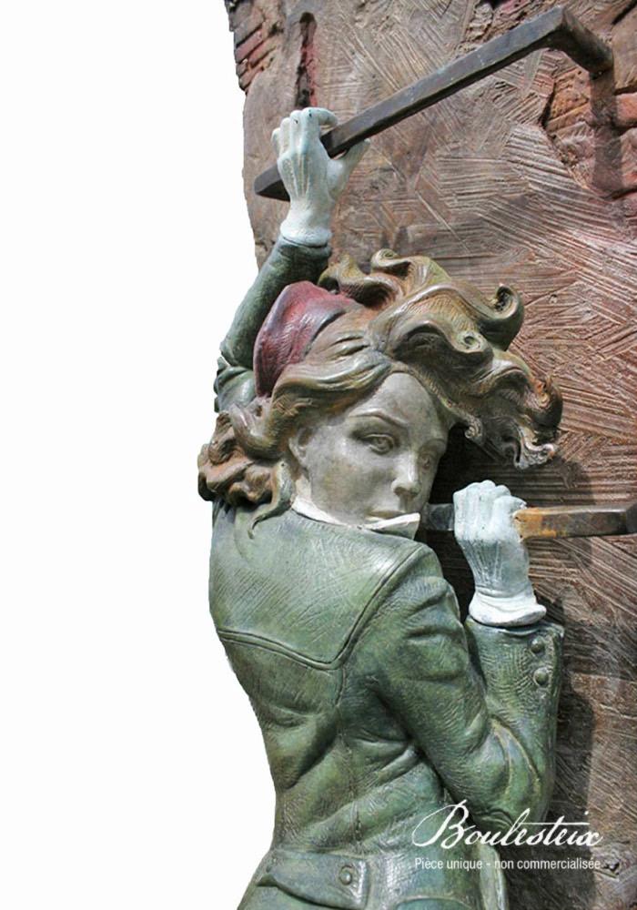 Jeanne à l'échelle