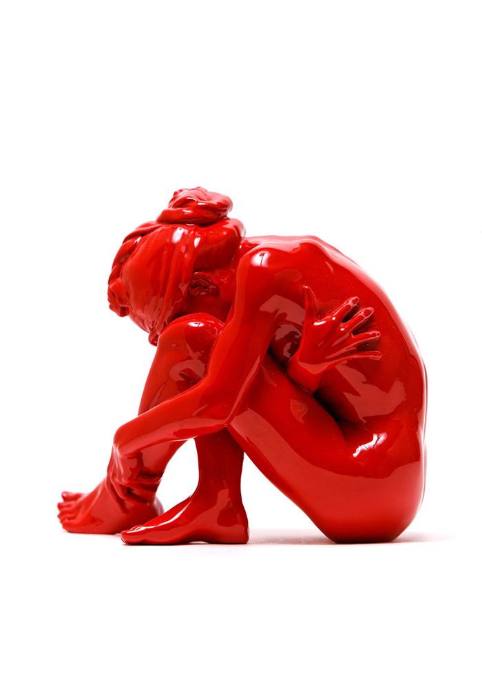 La Vouivre - couleur pop rouge