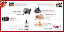 Catalogue d'incentive