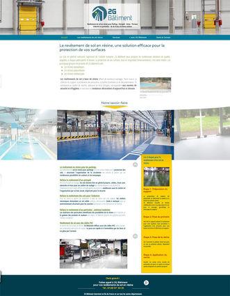 Site Wix pour revêtement de sol | Indé-Design