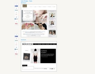 12 sites fantastiques de designers français Wix – alias Wix Pros
