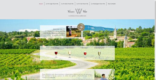 Site revendeur de vin | Indé-Design