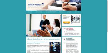 Site Wix pour école et finance | Indé-Design