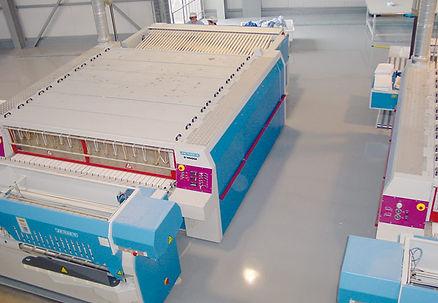 Revêtement sol en résine | Industrie, usine de production | 2G Bâtiment