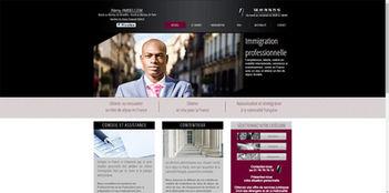 Site Wix pour avocat | Indé-Design