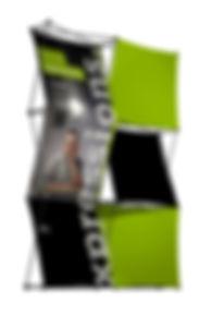 Bannière Sprint - Exhibit NA - Enrouleur, bannière pour votre exposition