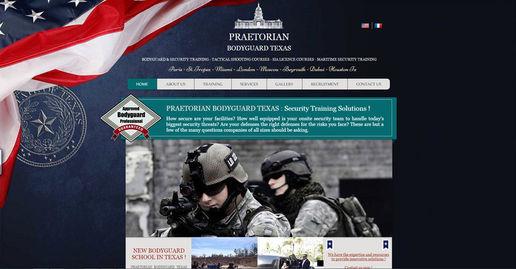 Site Wix camp d'entrainement militaire | Indé-Design