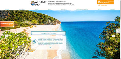 Site Wix pour agence de voyage | Indé-Design