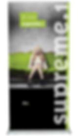 Suprême 1 - Exhibit NA - Enrouleur, bannière pour votre exposition
