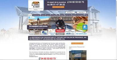 Site Wix pour artisan couvreur | Indé-Design