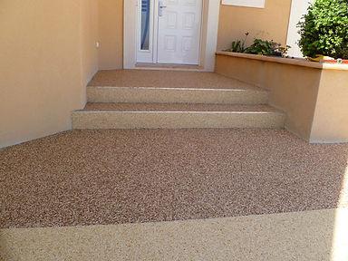 Revêtement sol en résine   Escaliers de maison   2G Bâtiment