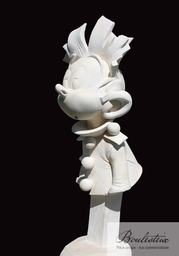 Sculpture de Spirou