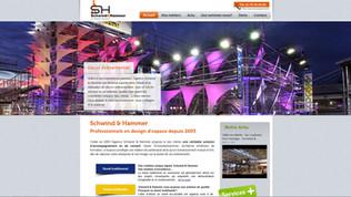 Une création Indé-Design, site Schwind & Hammer