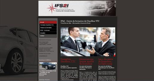 Site Wix Formation chauffeur VTC| Indé-Design