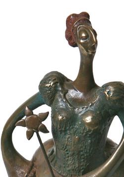 Charagosse - bronze composite