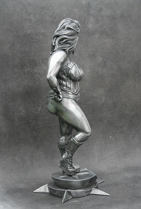 Tirage en aluminum composite pour le sculpteur Sébastien Vivolsi  - Boulesteix
