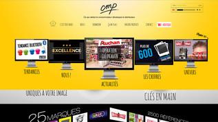 CMP-Paris choisit Wix pour communiquer et Indé-Design pour les conseils