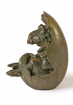 Baby Dragon - composit bronze