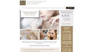 D&Z Agency - Site de prestation de mariée à domicile