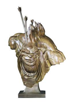 Hébus - bronze -