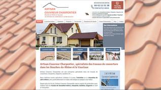 Artisan - exemple de création de site Internet par Indé-Design