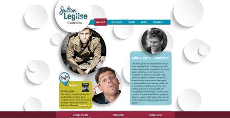 Site pour comédien | Indé-Design