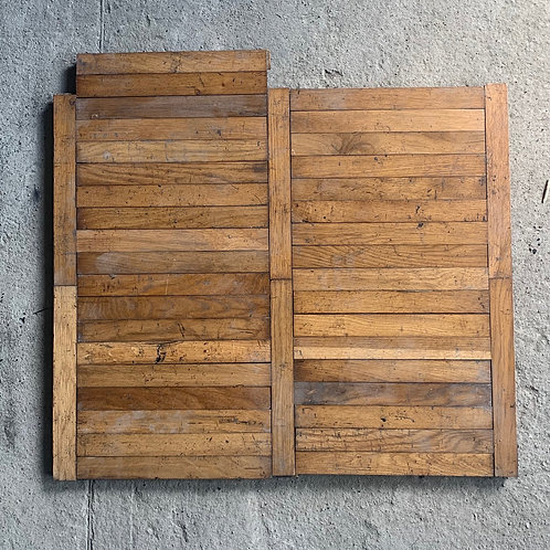 R4545. Reclaimed Gym Oak Wood Parquet Flooring