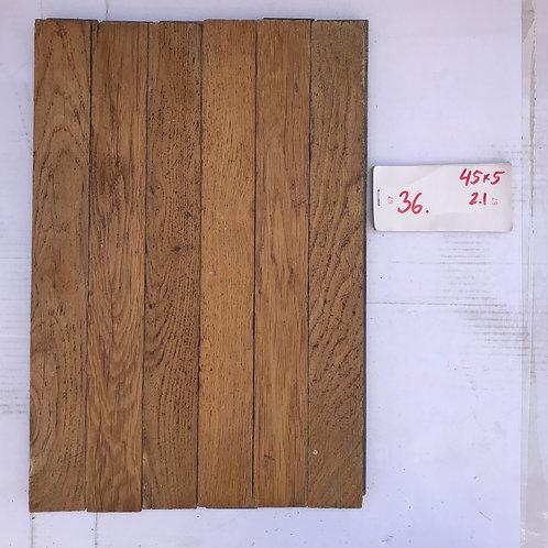 36. Reclaimed Oak Wood Parquet Flooring 20s/30s XX Century