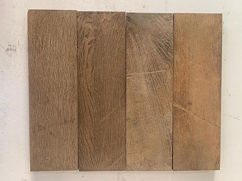 B4012. Reclaimed Oak Beautiful Wood Parquet Flooring 1927