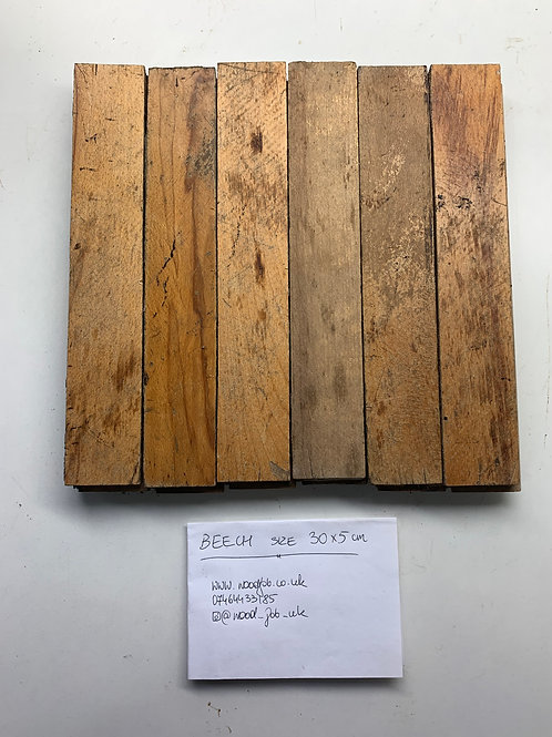 R305. Reclaimed Beech Beautiful Wood Parquet Flooring