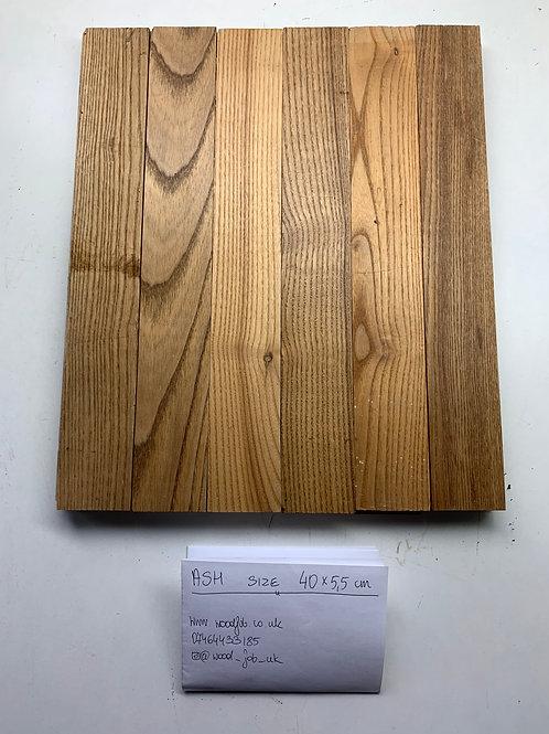 R4055. Reclaimed Ash Beautiful Wood Parquet Flooring