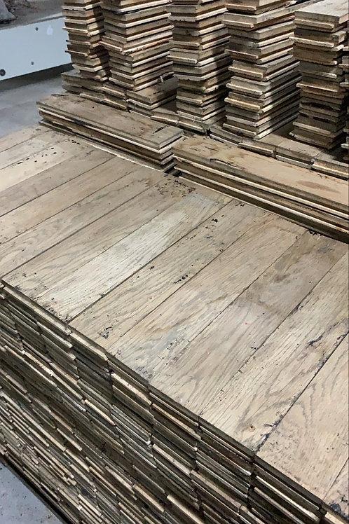 L4065. Reclaimed Oak Beautiful Wood Parquet Flooring