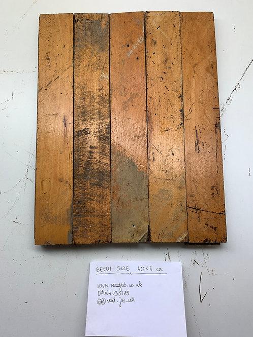S406. Reclaimed Beech Beautiful Wood Parquet Flooring