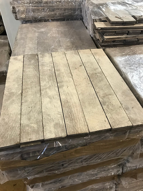 18A. Reclaimed Oak Wood Parquet Flooring 60s/70s XX century