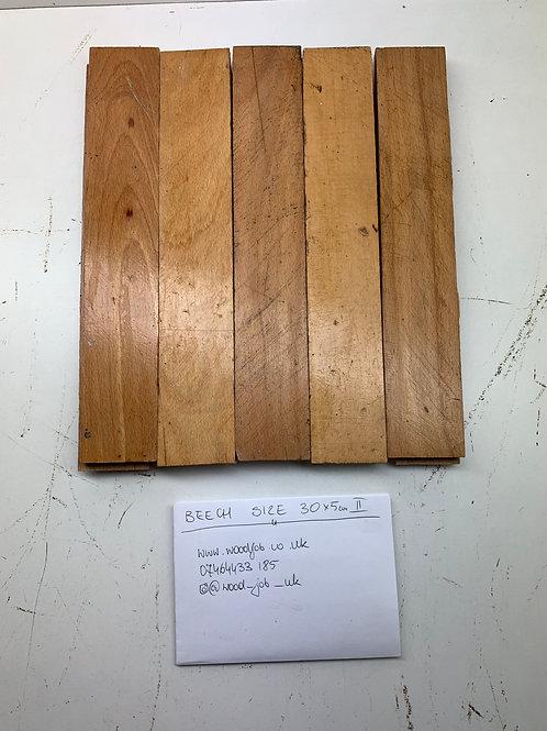 S305 II. Reclaimed Beech Beautiful Wood Parquet Flooring