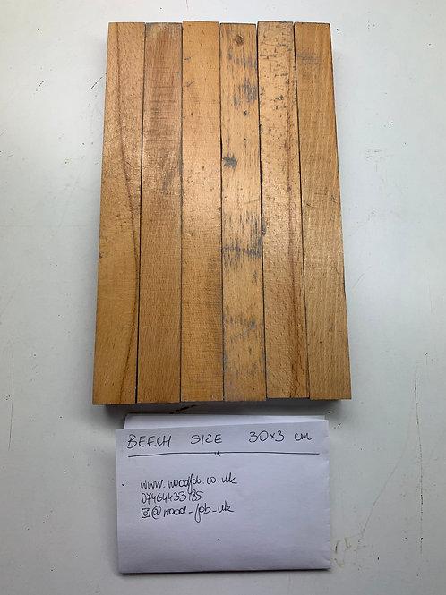 R303. Reclaimed Beech Beautiful Wood Parquet Flooring