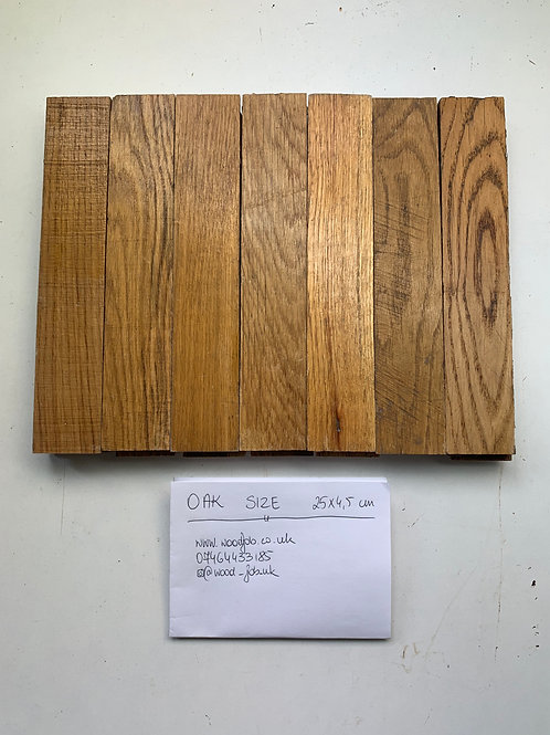 R2545. Reclaimed Oak Beautiful Wood Parquet Flooring