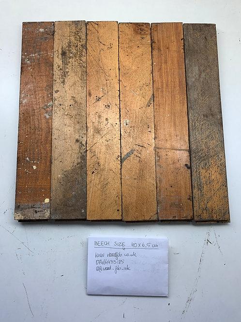 S4065. Reclaimed Beech Beautiful Wood Parquet Flooring